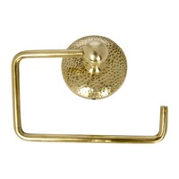 Amara Mottled Toilet Roll Holder Brass