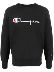 Champion Big Script Crewneck Sweatshirt 60