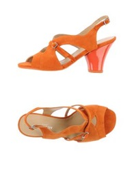 Audley Sandals Orange