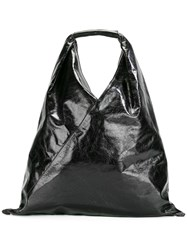 Maison Martin Margiela Mm6 Sack Tote Black