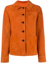 Drome Fitted Jacket Yellow Orange