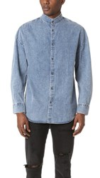 Zanerobe Band Rugger Denim Shirt Denim Washout