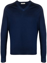 Etro V Neck Long Sleeved Jumper 60