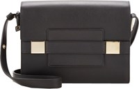 Delvaux Madame Pm Shoulder Bag Black