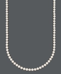Belle De Mer Pearl Necklace 30' 14K Gold A Cultured Freshwater Pearl Strand 7 1 2 8Mm