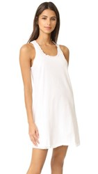 Skin Chemise With Pockets White