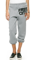 Freecity Sweatpants Oxford Orange