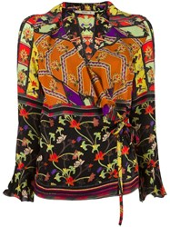 Etro Ruffle Neck Top