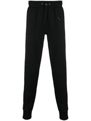 Philipp Plein Relaxed Track Trousers Black