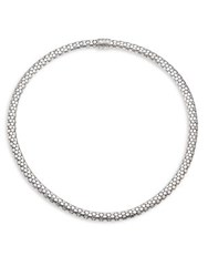John Hardy Dot Sterling Silver Small Chain Necklace