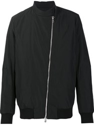Thamanyah Zipped Bomber Jacket Black