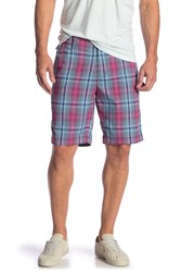 Tommy Bahama Playa Tech Plaid Shorts Corydalis