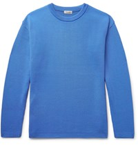 Camoshita Ribbed Knit Sweater Azure