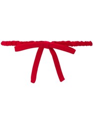 N 21 No21 Rosso Bow Belt Red