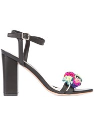 Loeffler Randall 'Laylan' Sandals Women Calf Leather Leather 9 Black