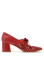 Sarah Chofakian Ankle Boot Romance Red