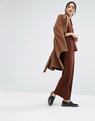 Just Female Quint Wide Leg Trousers Brwon Brown
