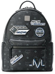 Mcm Stark Backpack Black