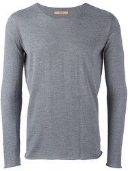 Nuur Scoop Neck Jumper Grey