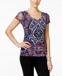 Inc International Concepts Paisley Print Layered Top Only At Macy's Couture Paisley