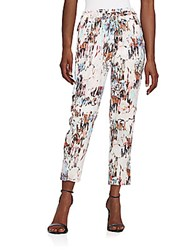 French Connection Isla Ripple Printed Pants Day Dream