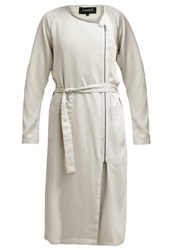 Mbym Prune Classic Coat Bone White Beige