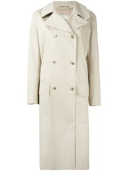 Studio Nicholson Lightweight Trench Coat Nude Neutrals