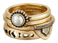 Lucky Brand Lucky Layers Stack Ring Gold Ring