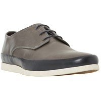 Bertie Breezy Contrast Rand Lace Up Shoes Dark Grey
