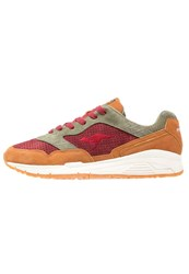 Kangaroos Ultimate Trainers Cognac Wine