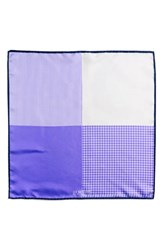 Men's J.Z. Richards Silk Pocket Square Purple