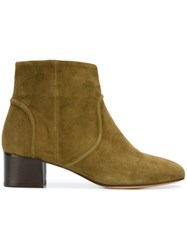 Tila March 'Minnesota' Ankle Boots Green