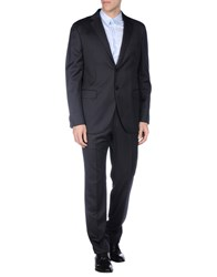 Luigi Bianchi Mantova Suits And Jackets Suits Men Dark Blue