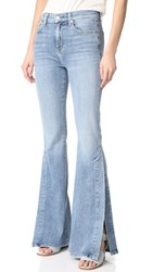 7 For All Mankind Ali Jeans With Split Seams Gold Coast Waves