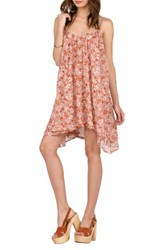 Volcom Women's Laying Low Print Swing Dress
