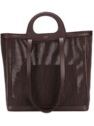 Max Mara Queen Shopping Bag Brown