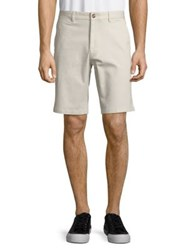 Black Brown Classic Buttoned Shorts Dusty