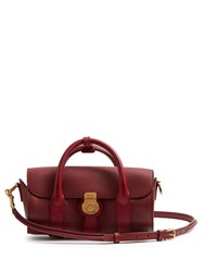 Burberry Trench Small Textured Leather Barrel Bag