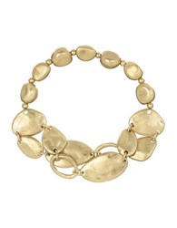 The Sak Two Row Stretch Bracelet Gold