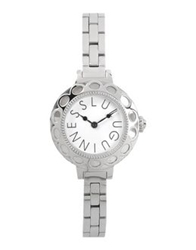Lulu Guinness Wrist Watches Silver