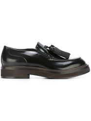 Brunello Cucinelli Tassel Detail Loafers Black