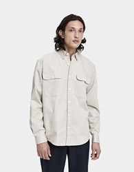 Schnayderman's Oversized Button Down Shirt Sand