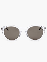 Thierry Lasry Clear Acetate ''Zomby'' Sunglasses