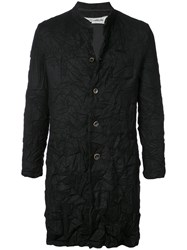 Individual Sentiments Crease Effect Coat Black
