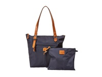 Bric's Milano X Bag Sportina Small Shopper Navy Tote Handbags