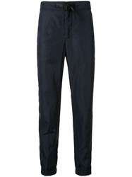 Ck Calvin Klein Belted Track Trousers Blue