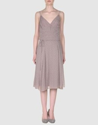 Essentiel 3 4 Length Dresses Dove Grey