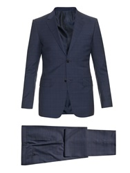 Gucci New Brera Checked Wool Suit