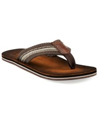 Clarks Cory Thong Sandals Men's Shoes Taupe