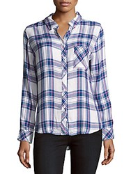 Rails Hunter Long Sleeve Plaid Shirt Multicolor
